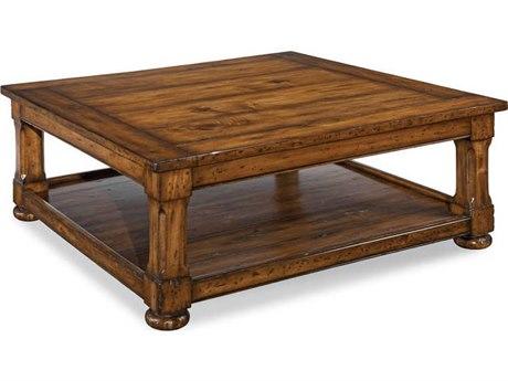 Woodbridge Furniture Tudor Normandy 48'' Wide Square Coffee Table