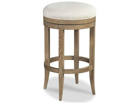 Woodbridge Furniture Vinatge Vintage Side Swivel Bar Height Stool