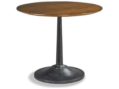Woodbridge Furniture Winston Sonoma / Blackened Metal 36'' Wide Round Dining Table