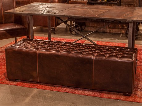 World Interiors Arabella Antique Bronze Accent Bench