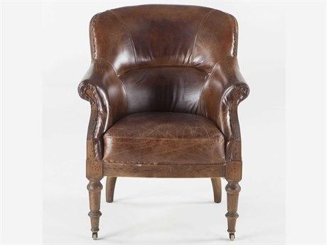 World Interiors Charles Oak Accent Chair