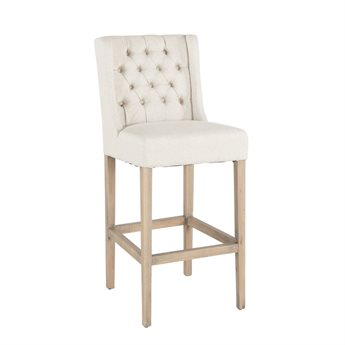 World Interiors Chloe Natural Side Counter Height Stool WITZWCL854N