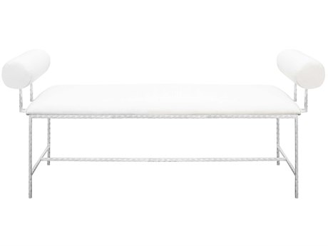 Worlds Away Accent Bench WAMILLERSWH