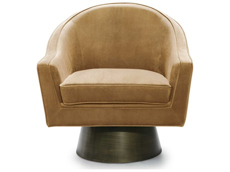 Worlds Away Swivel Accent Chair