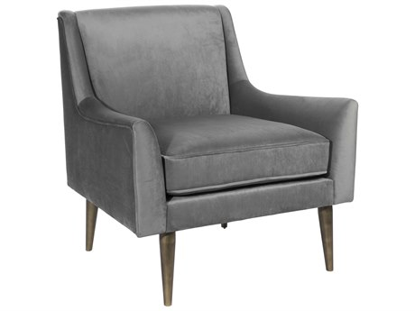 Worlds Away Accent Chair WAWRENNBZGRY