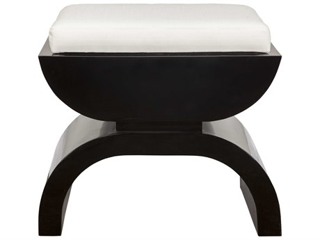 Worlds Away Accent Stool WABIGGSBL