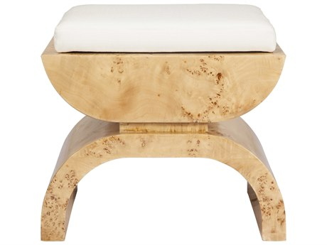 Worlds Away Accent Stool WABIGGSBW