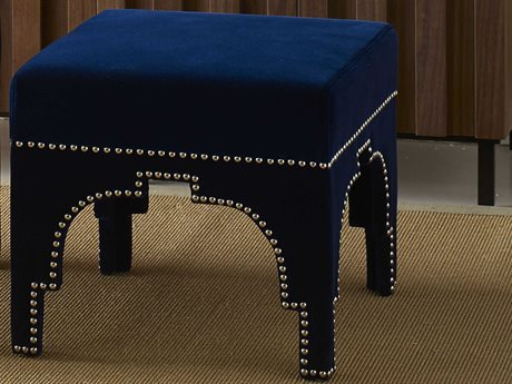 Worlds Away Accent Stool WACOLENVY