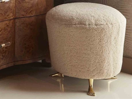 Worlds Away Accent Stool WAFILMORESHG