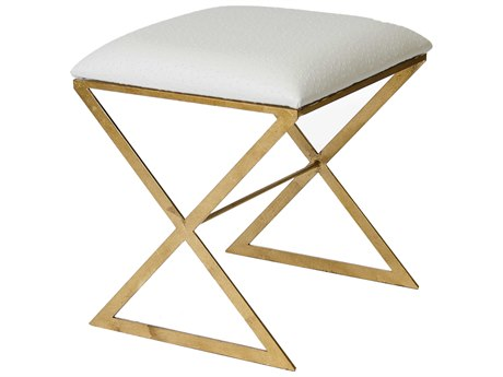 Worlds Away Accent Stool WAXSIDEGUO