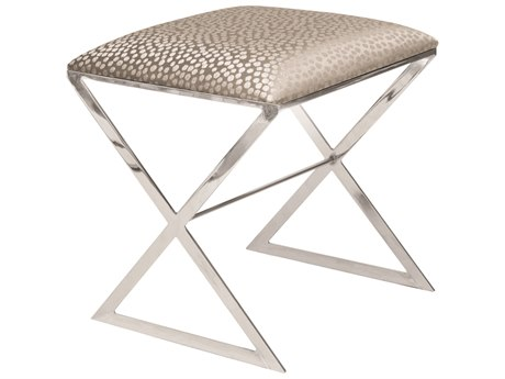 Worlds Away Accent Stool