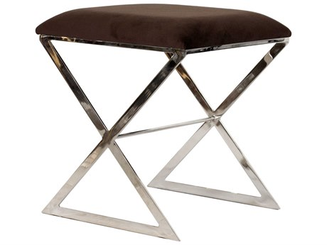Worlds Away Accent Stool WAXSIDENU