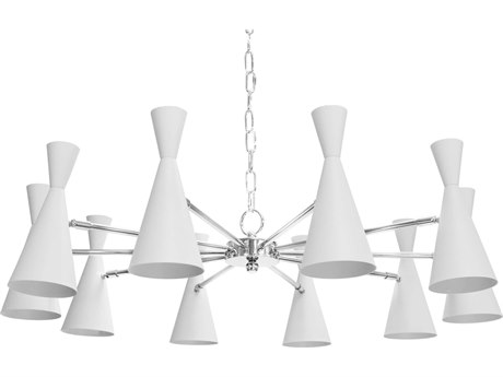 Worlds Away 36'' Wide Medium Chandelier