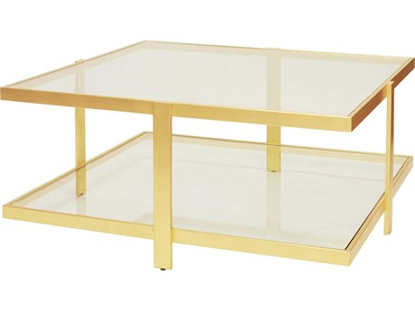 Worlds Away 39'' Wide Rectangular Coffee Table