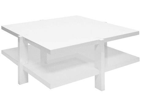 Worlds Away 40'' Wide Square Coffee Table