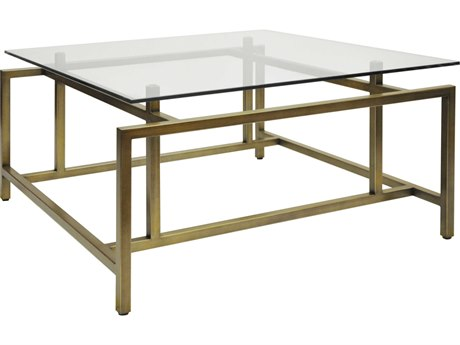 Worlds Away 36'' Wide Square Coffee Table