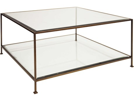 Worlds Away 37'' Wide Square Coffee Table