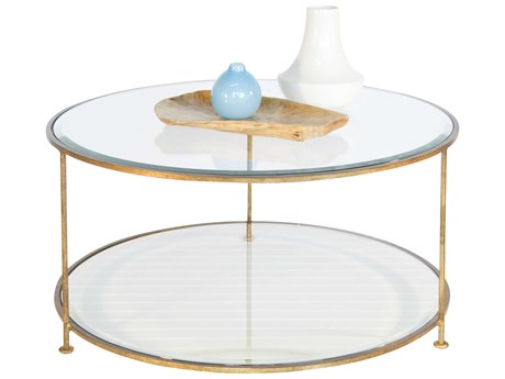Worlds Away 36'' Wide Round Coffee Table