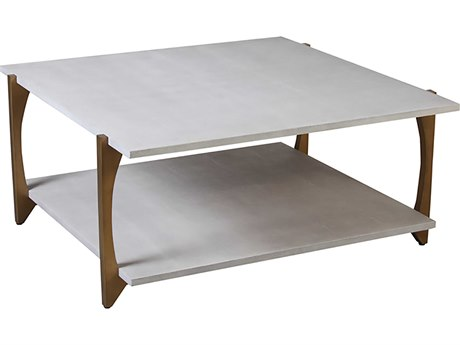 Worlds Away 40'' Wide Square Coffee Table WAROMANLGS
