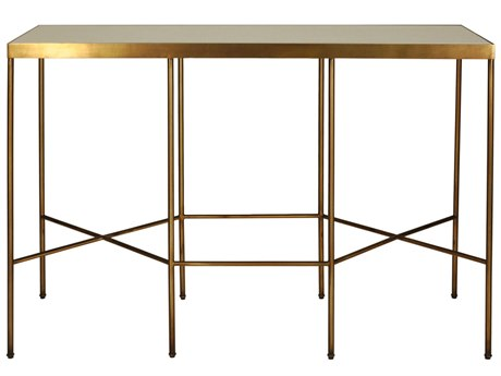 Worlds Away 48'' Wide Rectangular Console Table WAMERIDIANABR