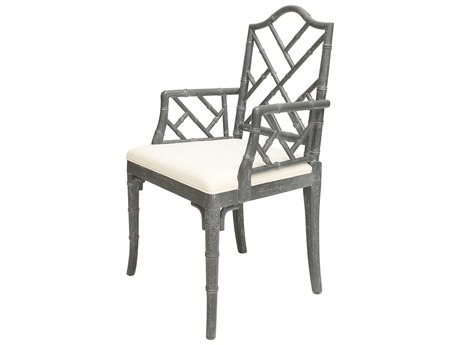 Worlds Away Arm Dining Chair