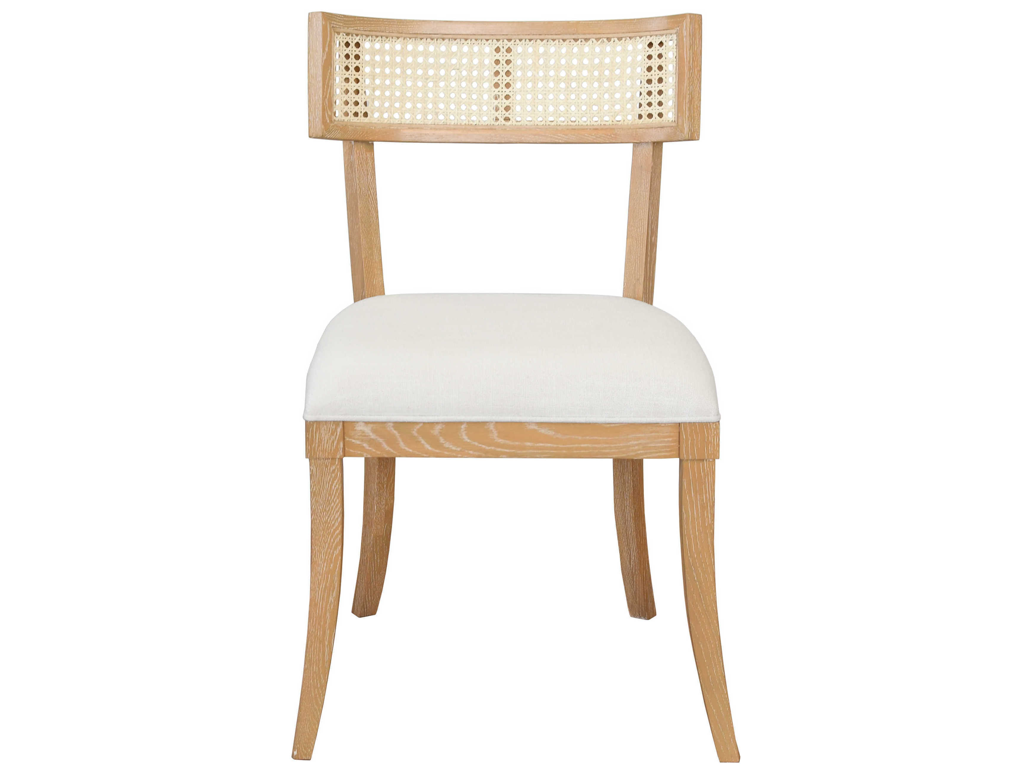 White Linen Side Dining Chair Wabrittaco, White Linen Dining Room Chairs