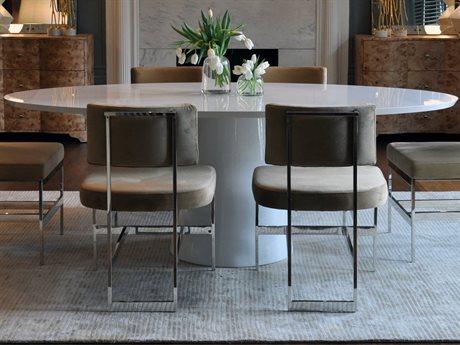 Hekman Urban Retreat Khaki Light Round Dining Table