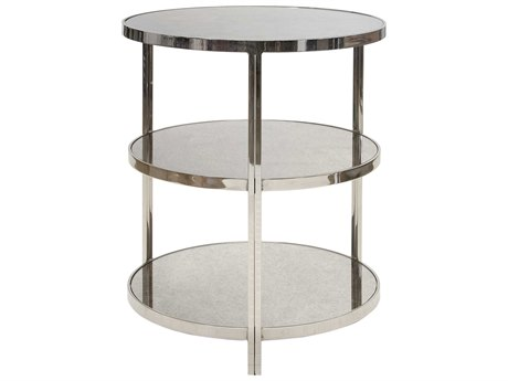 Worlds Away 22'' Wide Round End Table