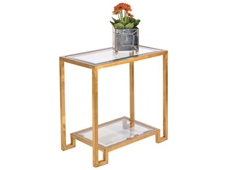 Worlds Away 26'' Wide Rectangular End Table