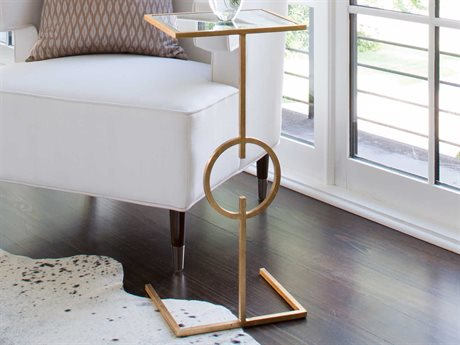 Worlds Away 12'' Wide Rectangular End Table