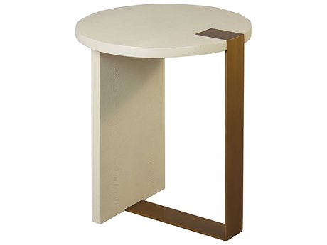 Worlds Away 22'' Wide Round End Table WAHARRINGTONCS