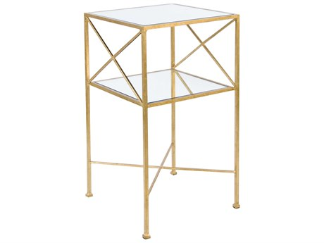 Worlds Away 15'' Wide Square End Table