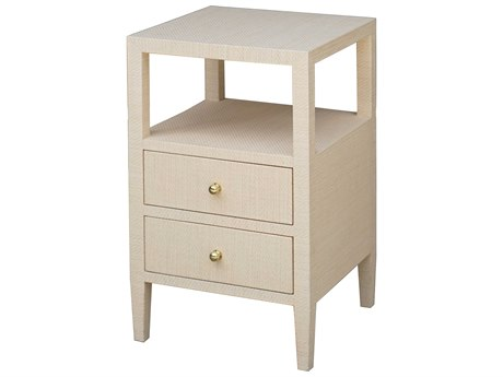 Worlds Away 18'' Wide Square End Table WAROSCOENAT