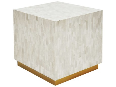 Worlds Away 18'' Wide Square End Table