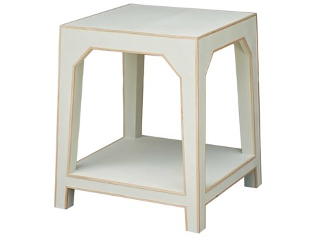 Worlds Away 23'' Wide Square End Table WAWALSHCS