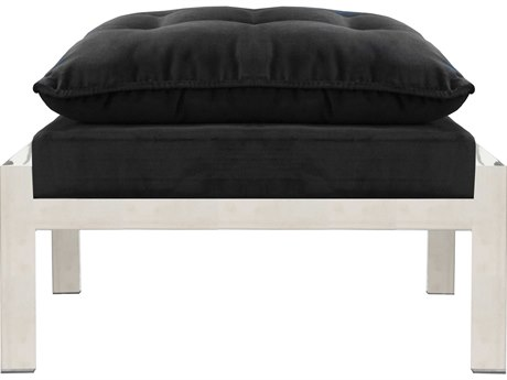 Worlds Away Ottoman