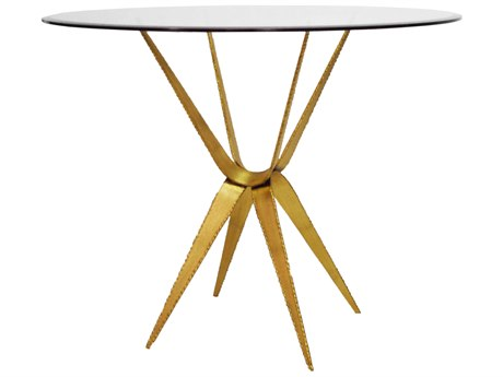 Worlds Away 36'' Wide Round Foyer Table WARAMONAGL36