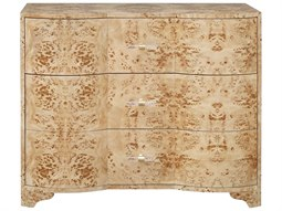 Burlwood Three-Drawer Single Dresser