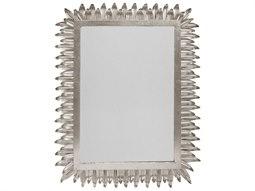 Silver Leaf 21.5''W x 29''H Rectangular Wall Mirror
