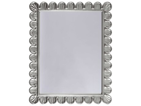 Feiss Parker Place 22 X 32 5 Brushed Steel Wall Mirror