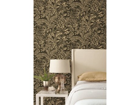 York Wallcoverings Modern Heritage 125th Anniversary Black