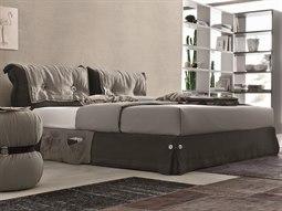 Amami Dark Grey King Queen Platform Bed