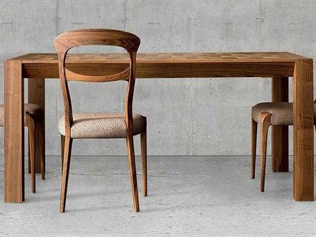Yumanmod Berry Walnut 74.8'' - 114.2'' x 39.4'' Extendable Rectangular Dining Table