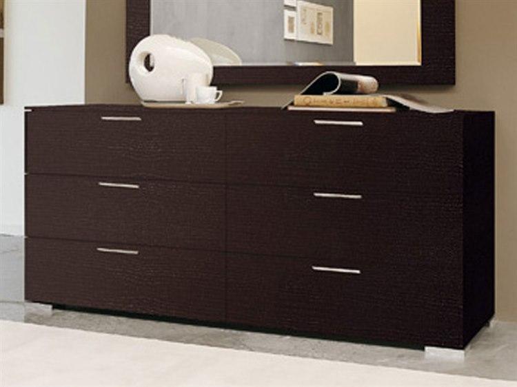 Yumanmod Enter Wenge 6 Drawers Double Dresser Ymcr54524