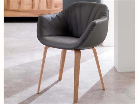 YumanMod Estro Arm Swivel Dining Chair YMOZ021401D