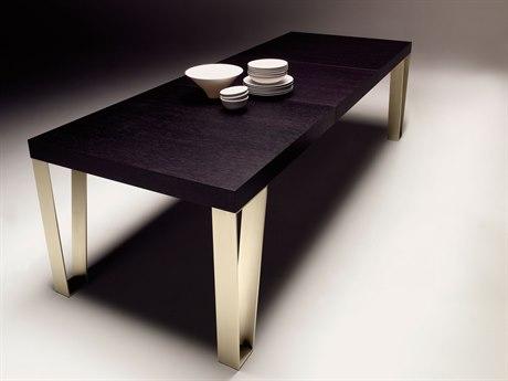 YumanMod Kyte Bronze / Oak Rectangular Dining Table