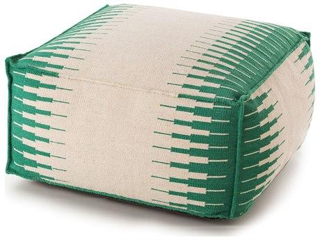 YumanMod Ottoman White / Green YMET3147070103