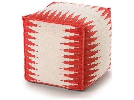 YumanMod Ottoman White / Red YMET3154545102