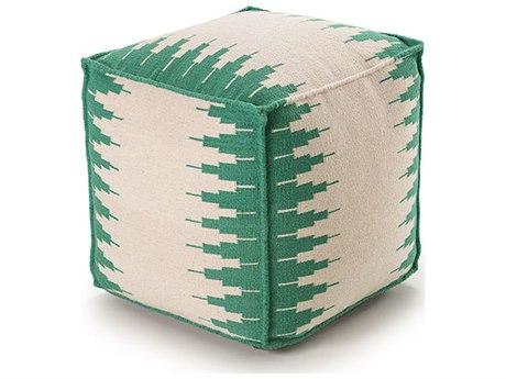 YumanMod Ottoman White / Green YMET3154545103
