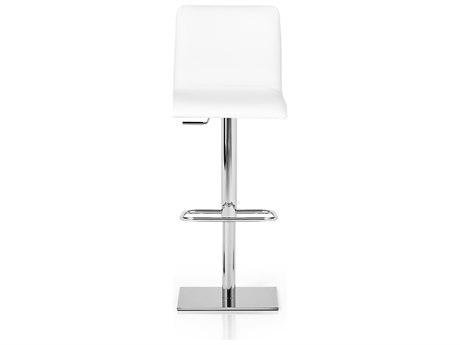 YumanMod Rest Chrome Side Adjustable Swivel Bar Height Stool YMPR030401